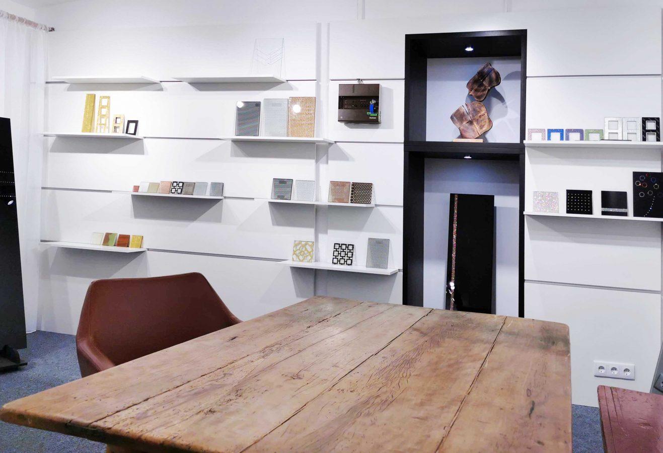 Baddesign Tirol Material und Planung