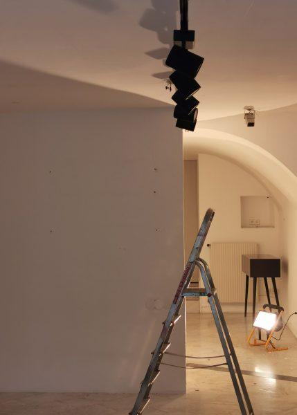 Umbau Showroom Hall